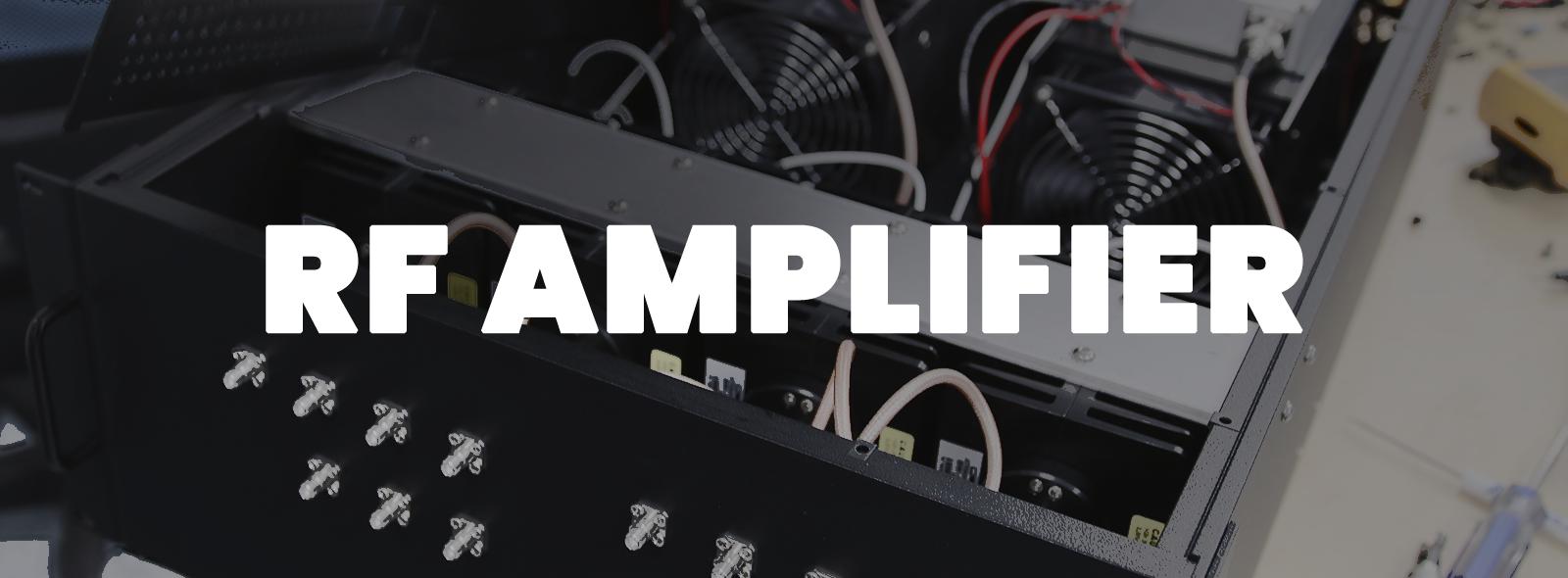 RF Amplifier Case Study Header Graphic